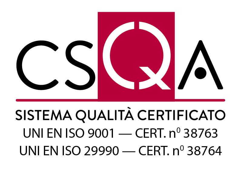 Certificazione qualità formazione IZSVe