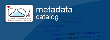 Applicativo GIS Metadata Catalog