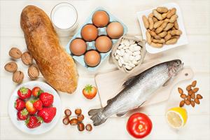 Il rischio allergeni nei cibi di origine vegetale e animale