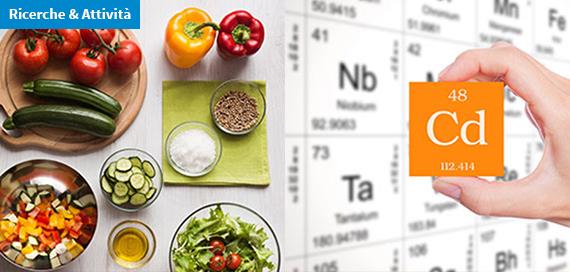 Esposizione al cadmio: quale rischio per le diete mediterranea e vegana?