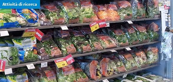 L'insalata confezionata e pronta al consumo è sicura? L'efficacia dei metodi di lavaggio domestici e industriali