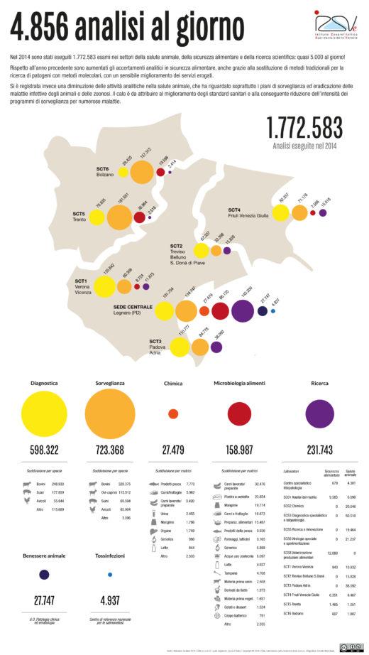 Relazione tecnica 2014 | Infografica