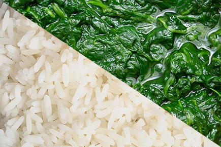 Cadmio nel riso e negli spinaci