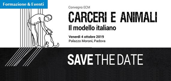 Convegno ECM / Carceri e animali: il modello italiano [SAVE THE DATE]