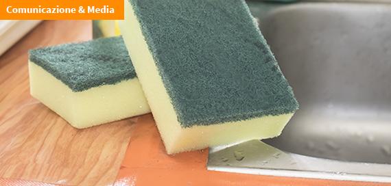 Rischi in cucina: cosa si nasconde in spugne e strofinacci? [Video]