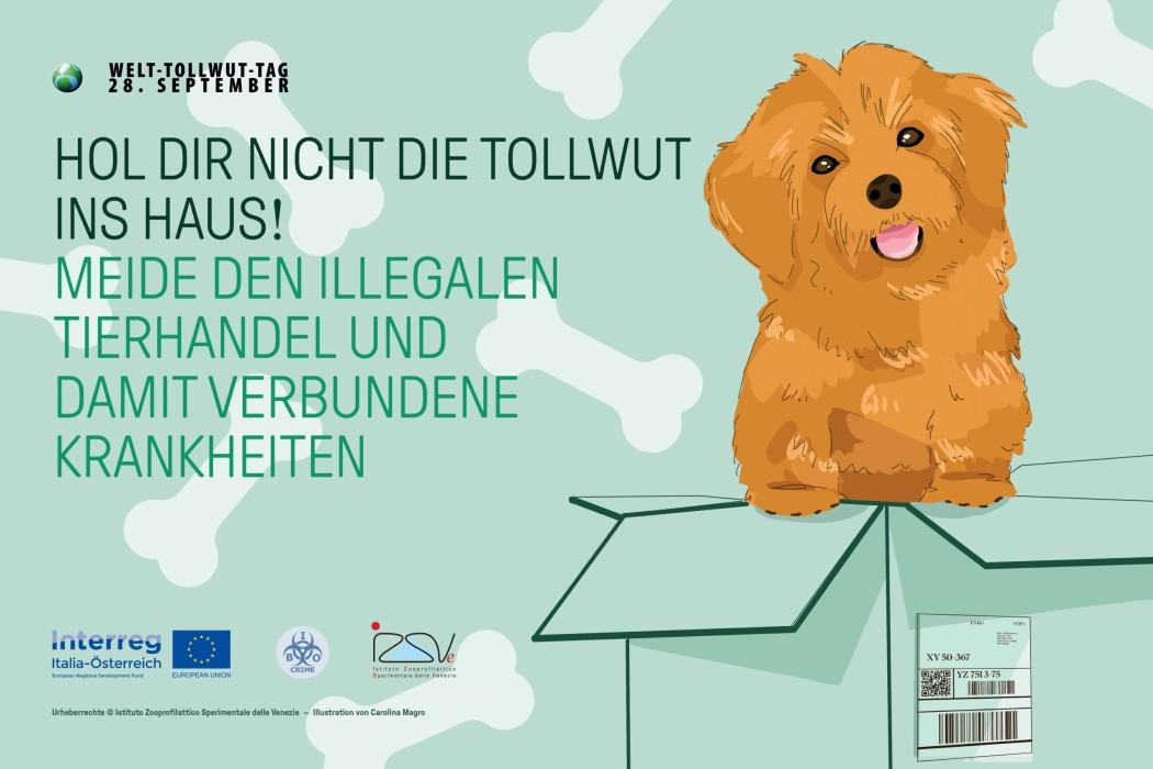 World Rabies Day 2020 - tovaglietta GER