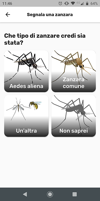 Mosquito Alert | Screenshot