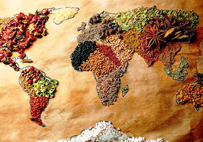 Spezie nel mondo