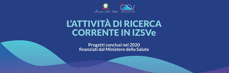 Corso ECM online / L'attività di ricerca corrente in IZSVe. Progetti conclusi nel 2020 finanziati dal Ministero della Salute