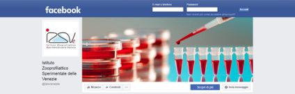 È attiva la Pagina Facebook ufficiale dell'Istituto Zooprofilattico Sperimentale delle Venezie